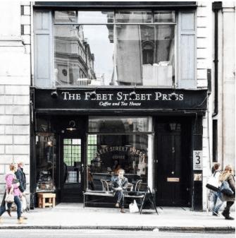Fleet Street Press - A Hidden Gem of a Cafe to Work from in London