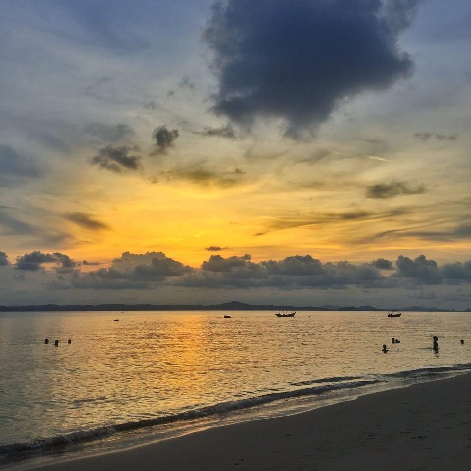 Relax on Kapas Island, Malaysia