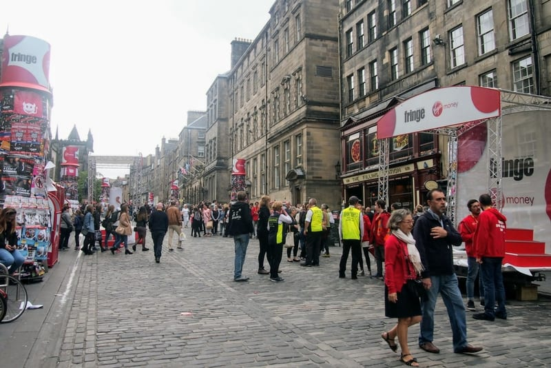 Exploring the Fringe Festival in Edinburgh, Scotland