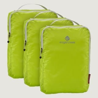 Image of Eagle Creek Neon Green Packing Cubes - Best Gifts for Travelers