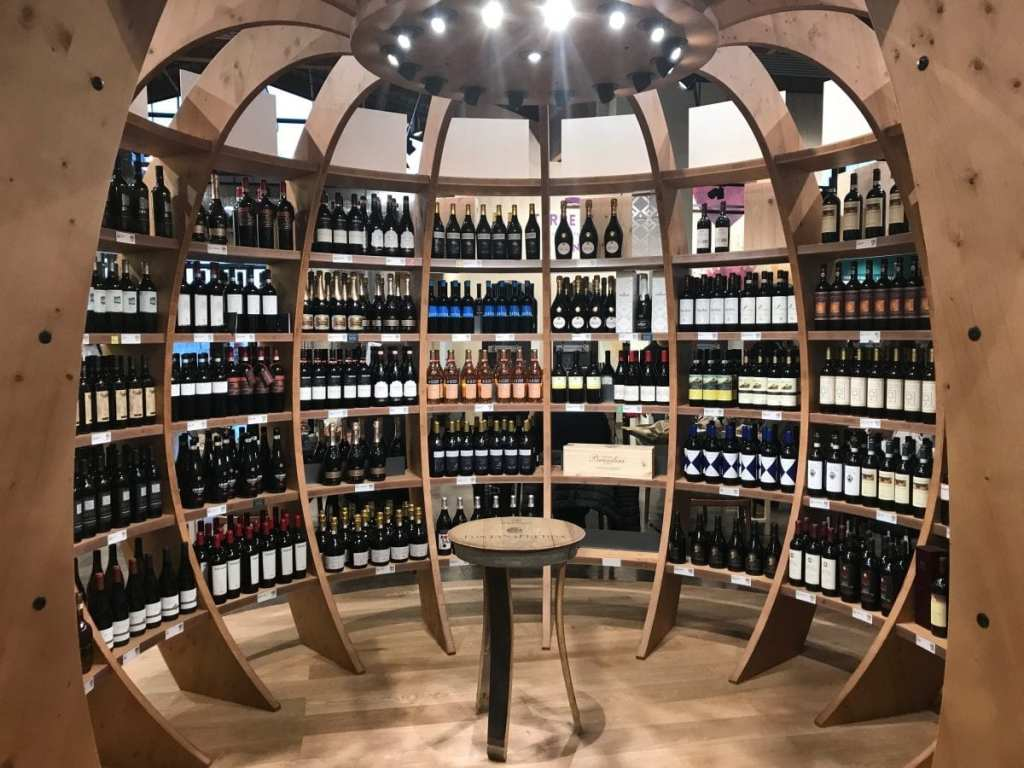 Shopping for Wine at FICO Eataly