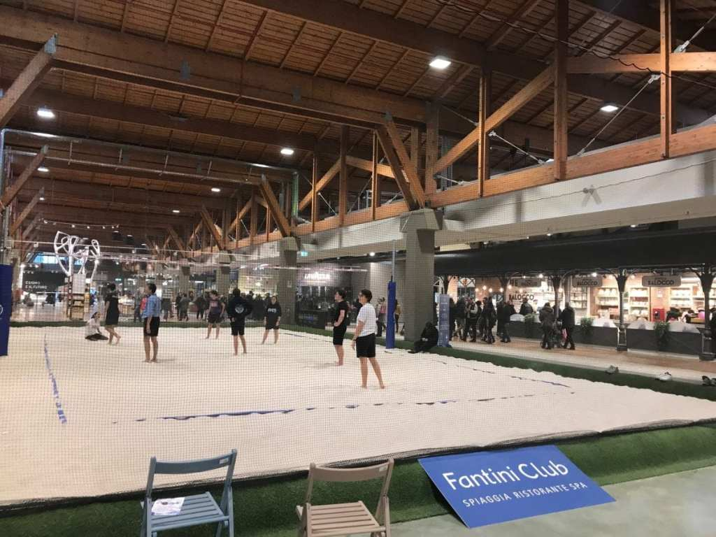 Beach Volleyball at Fico Eataly