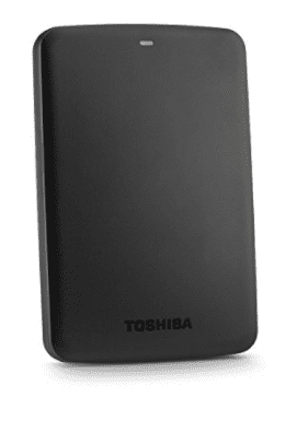 Toshiba External Hard Drive - Best Gifts for Travelers Who Love Tech