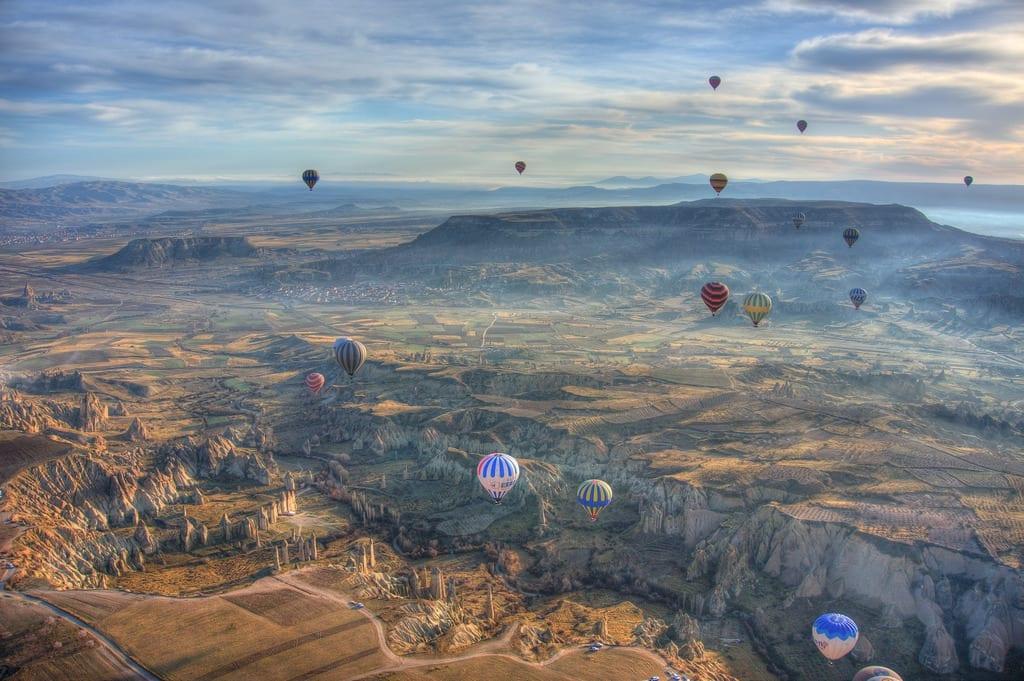 Hot Air Balloons Above Cappadocia - Istanbul and Cappadocia in Beautiful Photos