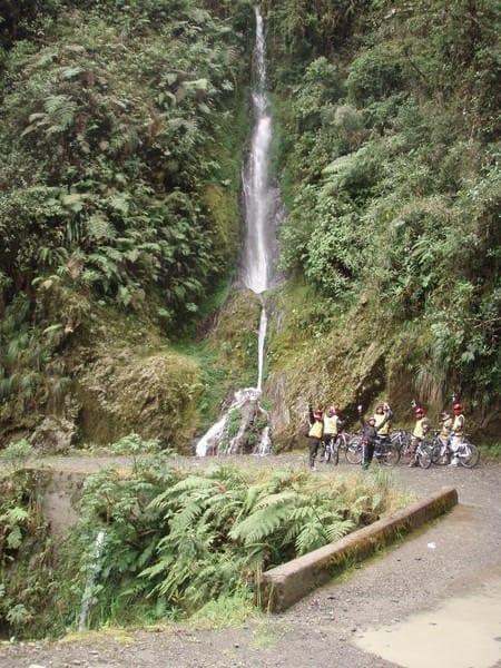 Waterfall in Bolivia