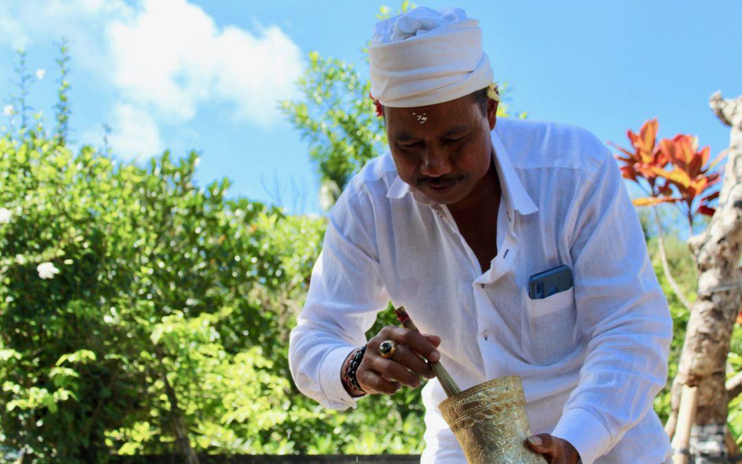 Balian Balinese Blessing