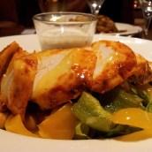 tandoori chicken salad chickpea
