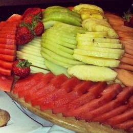 fruit platter Norton Park Winchester