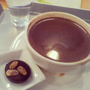 hot chocolate Laurent Gerbaud Brussels