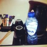 tea coffee kettle facilities hotel room Park Inn Brussels