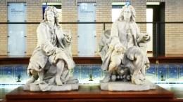 statues musee de la piscine