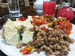 Abu Dhabi ritz carlton salad
