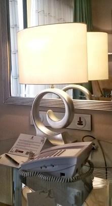 lamp furnishing Ritz Carlton hotel