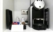 Budpaest Hotel Room Nespresso Machine