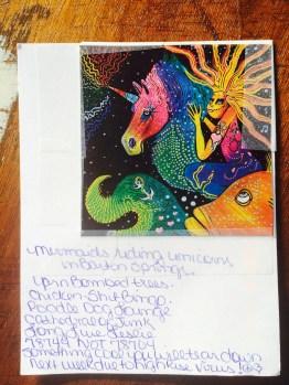 mermaids riding unicorns