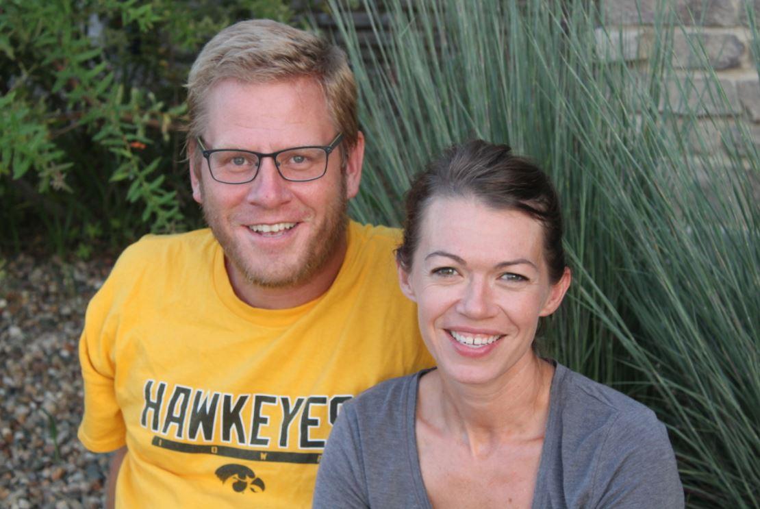 Amanda and her husband Alan