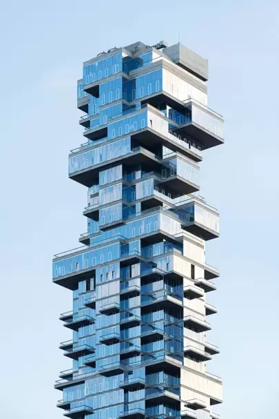 56 Leonard The Architectural Twist That Inspired New York