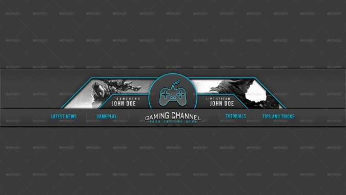 Follow the vibe and change your wallpaper every day! Background Header Youtube Gaming 1024x576 Download Hd Wallpaper Wallpapertip