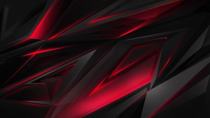 yeux rouges dragon noir fond d ecran 4k