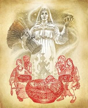 Bogini Mokosza