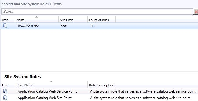 Servers and Site System Roles