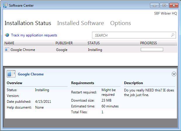 Software installation - part 2