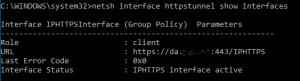 netsh interface httpstunnel show interfaces