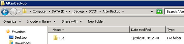 SCCM 2012 SP1 Site Backup and Afterbackup.bat