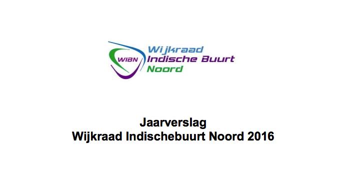 Jaarverslag WIBN 2016