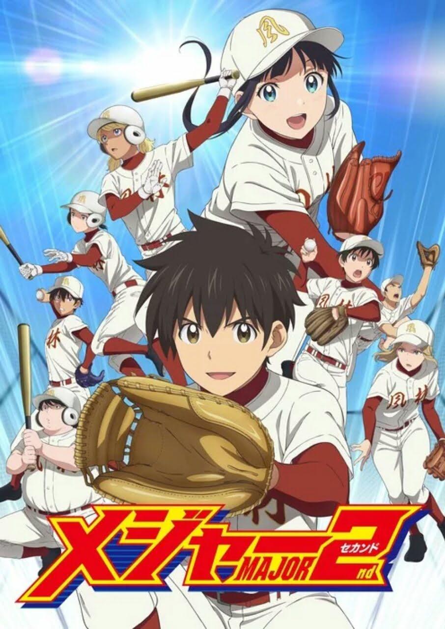 Season Kedua Anime Major 2nd Ungkap Seiyuu Baru Dan Staff Serta Tanggal Tayangnya 2