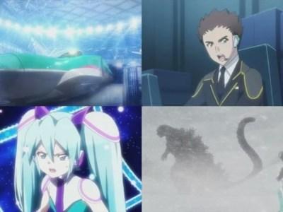 3 Menit Pertama Film Anime Shinkalion Dirilis Dengan Pertarungan Hatsune Miku vs. Godzilla 33