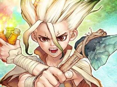 Manga Dr. Stone Terhenti 1 Edisi Dikarenakan Penyakit Mendadak Boichi 25