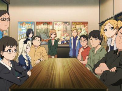 Pembagian Staff dalam Produksi Anime