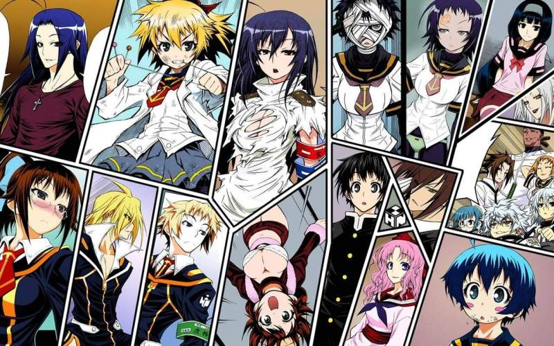 Medaka Box : Anime Super Power, Dengan Karakter Utama Seorang Cewek 1