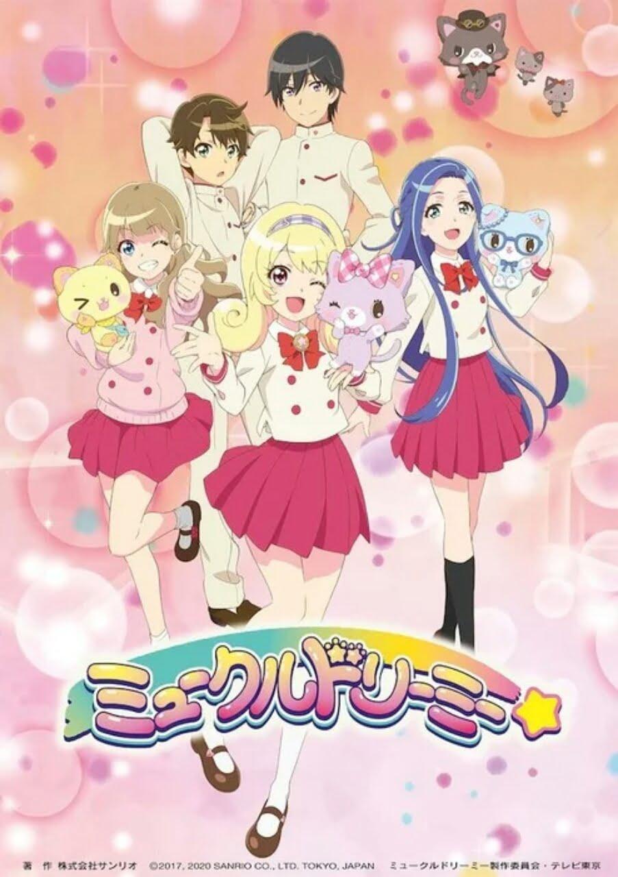 Anime TV Mewkledreamy Dari Sanrio Ungkap Seiyuu, Staf Lainnya, Dan Tanggal Tayangnya 2