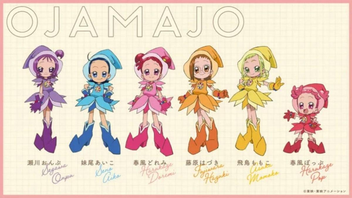 Teaser Film Anime Ulang Tahun Ke-20 Ojamajo Doremi Dirilis 3