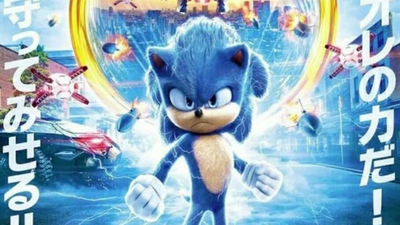 Film Sonic the Hedgehog Merilis Klip Dengan Terjemahan Bahasa Jepang, Visual Poster Baru 1