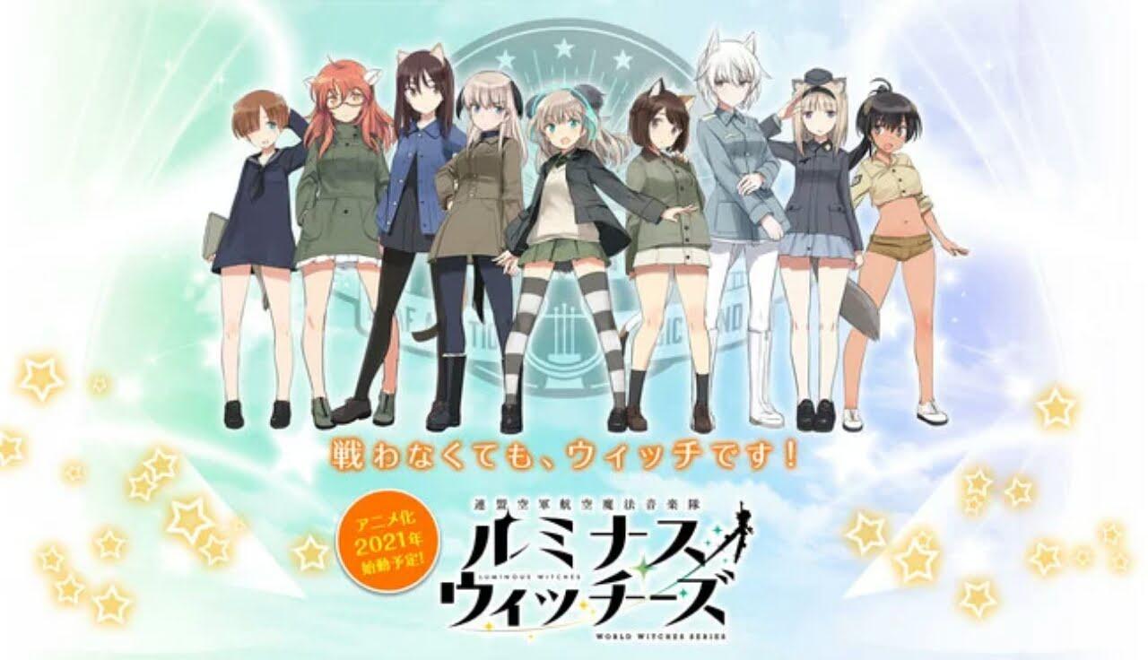 Anime Luminous Witches Diperankan Kyō Tachibana 1