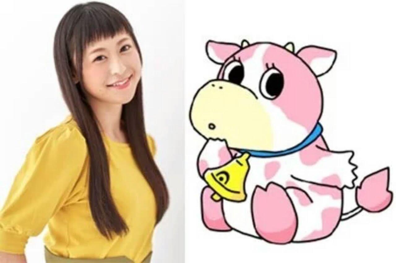 Anime dari Proyek Karakter Virtual 'Kotodama Shōjo' Diperankan oleh Sora Tokui sebagai Sapi 1