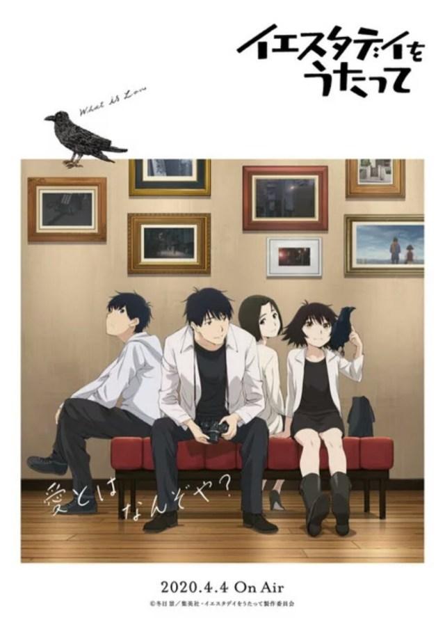 Anime Yesterday o Utatte Ungkap PV dan 21 Anggota Seiyuu Lainnya 2