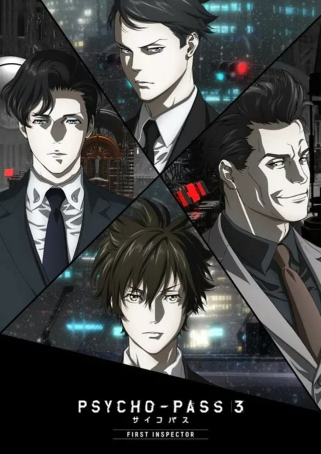 Film Anime Psycho-Pass 3 Dibuka pada 27 Maret Selama 2 Minggu 2