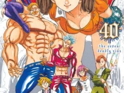 Manga The Seven Deadly Sins akan Berakhir Dengan Volume Ke-41 pada Bulan Mei 11