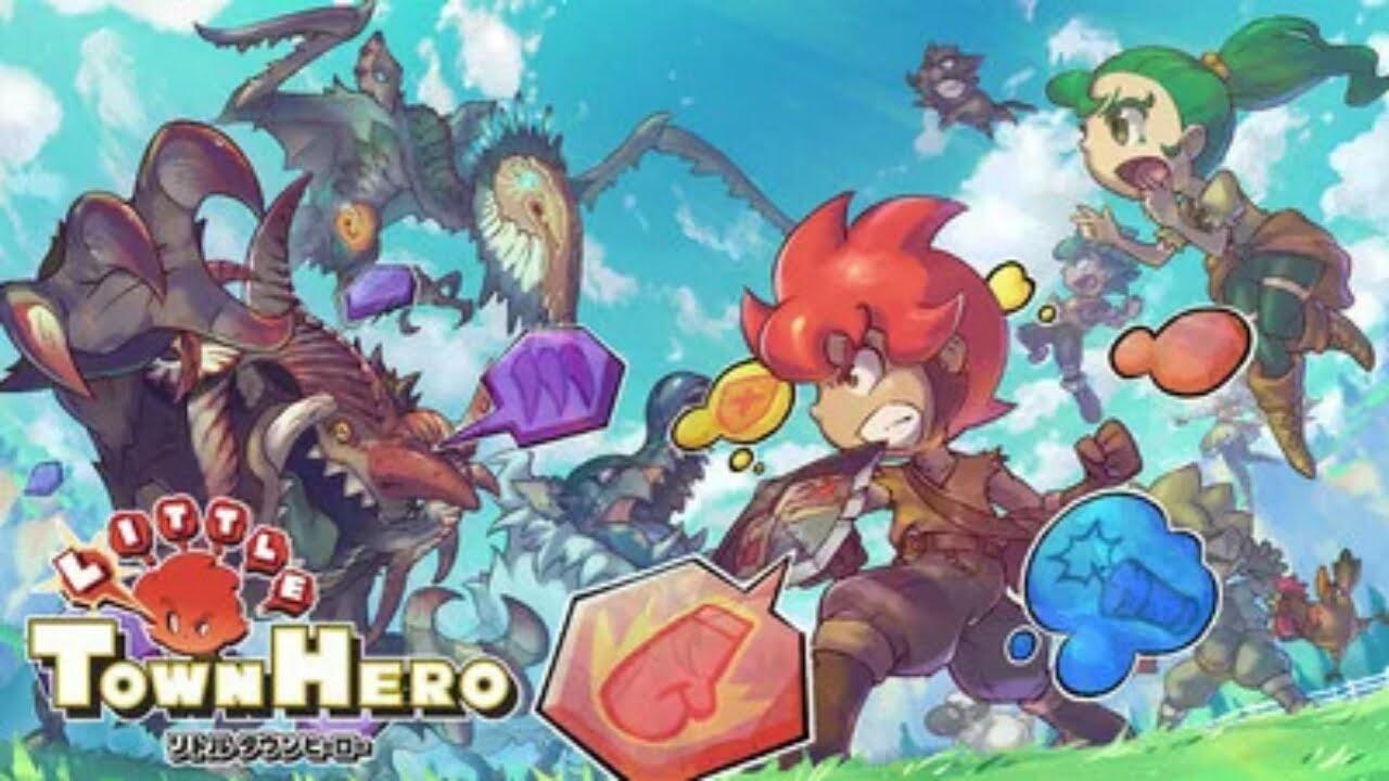 Versi PS4 dari Game Little Town Hero Garapan Game Freak akan Rilis di Barat pada bulan Juni 1