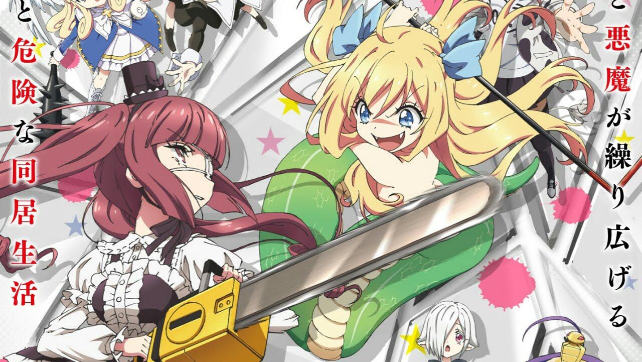 Season Kedua Anime Dropkick on My Devil! Ungkap Lagu Pembuka dan Visualnya 1