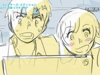 Makoto Shinkai Menyuarakan Hina dan Hodaka dari Weathering With You dalam Video Storyboard 1