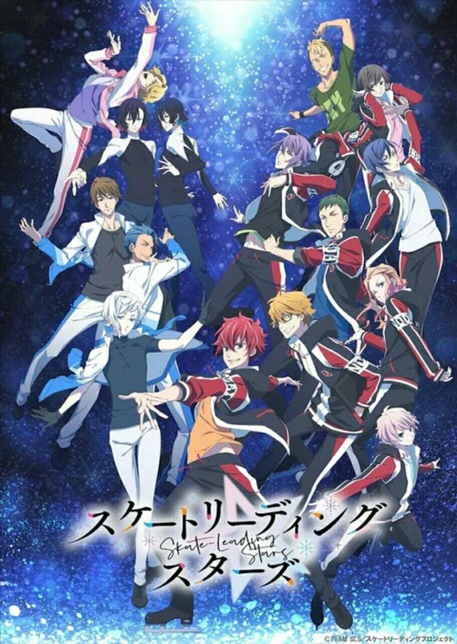 Anime TV Skate-Leading Stars Ungkap Seiyuu & Staf Lainnya, Intro Cerita, Bulan Debut 2