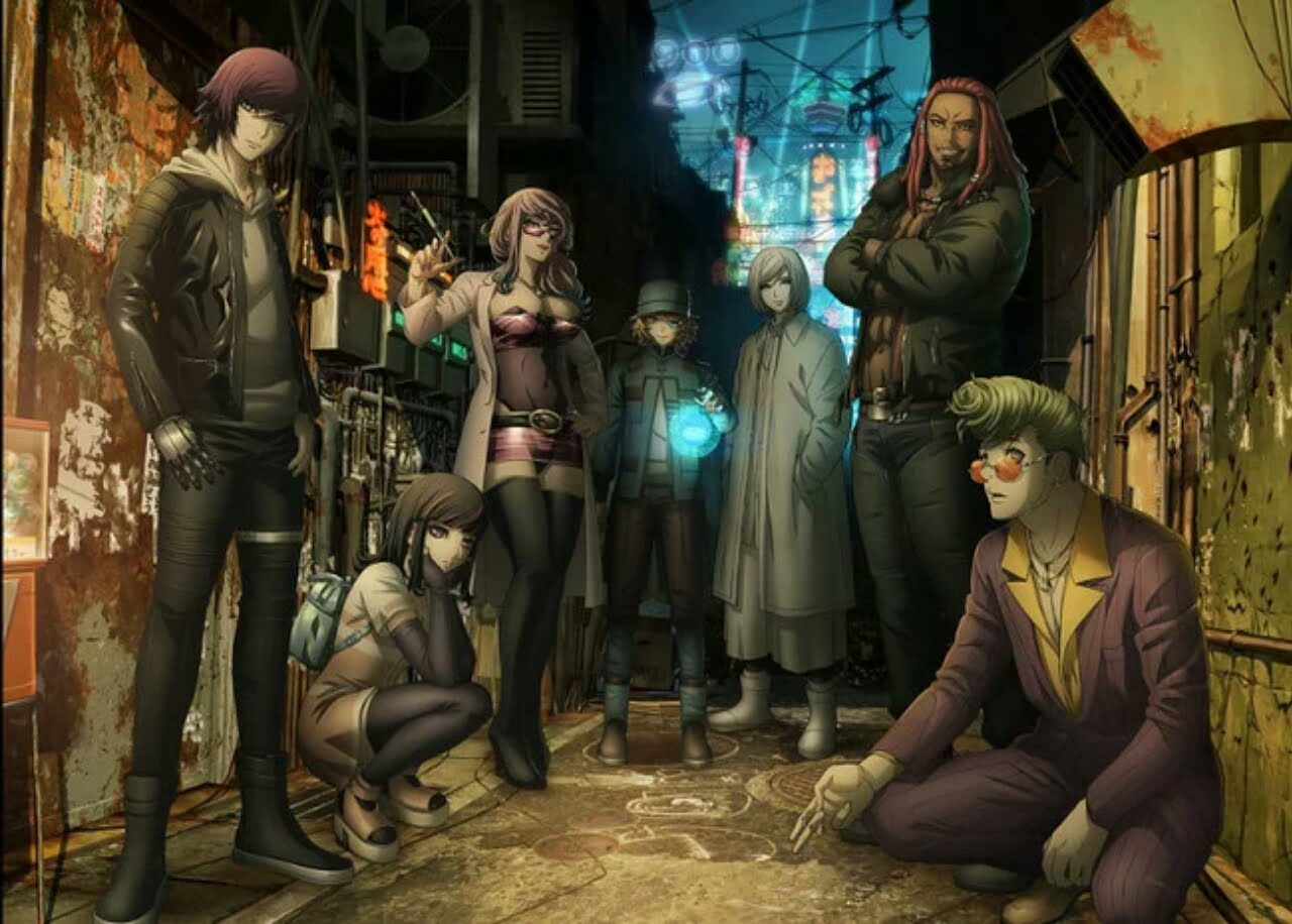 Anime Orisinal Akudama Drive Ungkap Desain Karakter untuk 7 Karakter Utama 1