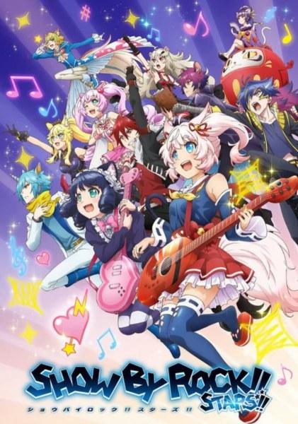Franchise Show By Rock!! Dapatkan Seri Anime TV Baru 1