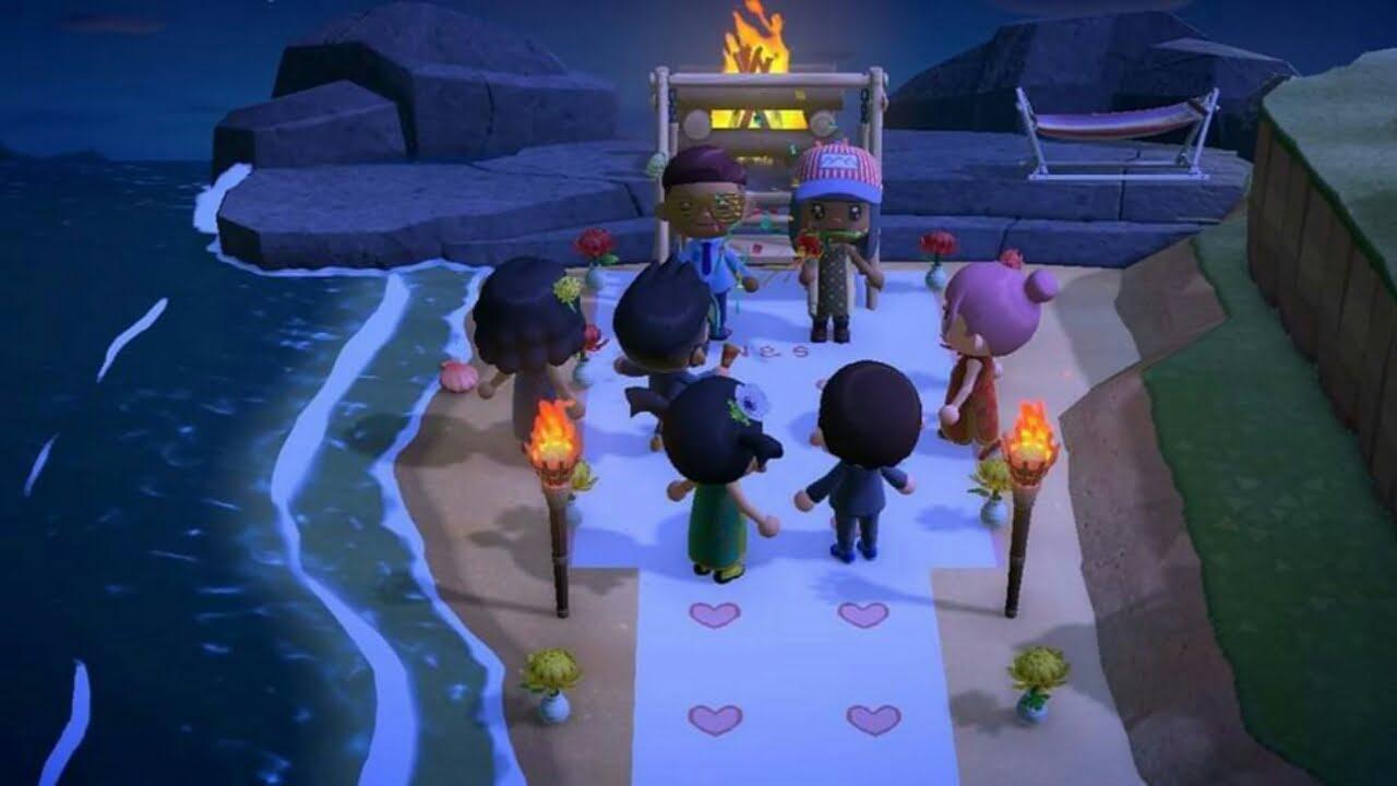 Pernikahan yang Batal Karena COVID-19 Dikreasikan dalam Animal Crossing: New Horizons 1
