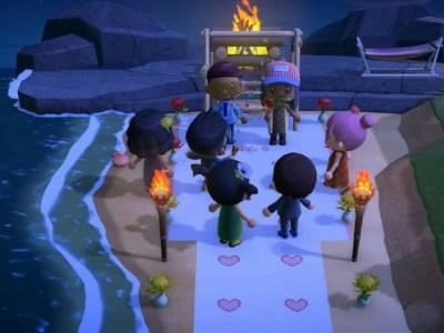 Pernikahan yang Batal Karena COVID-19 Dikreasikan dalam Animal Crossing: New Horizons 5